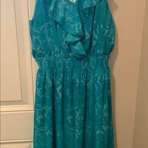 Selling a long strap dress